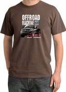Ford Truck Pigment Dyed T-Shirt - F-150 4X4 Offroad Adult Chestnut Tee