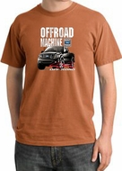 Ford Truck Pigment Dyed T-Shirt - F-150 4X4 Offroad Burnt Orange Tee