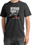 Ford Truck Pigment Dyed T-Shirt - F-150 4X4 Offroad Dark Smoke Tee