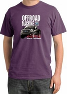 Ford Truck Pigment Dyed T-Shirt - F-150 4X4 Offroad Machine Plum Tee