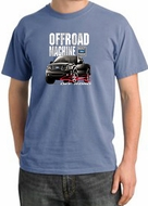 Ford Truck Pigment Dyed T-Shirt - F-150 4X4 Offroad Night Blue Tee