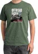 Ford Truck Pigment Dyed T-Shirt - F-150 4X4 Offroad Olive Tee