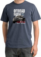Ford Truck Pigment Dyed T-Shirt - F-150 4X4 Offroad Scotland Blue Tee
