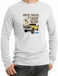 Ford Truck Shirt Driving and Tagging Bucks Thermal Shirt White