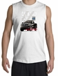 Ford Truck Shooter Shirt - F-150 4X4 Offroad Machine Adult White Shirt