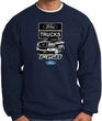 Ford Truck Sweatshirt - F-150 Truck Adult Navy Sweat Shirt