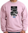 Ford Truck Sweatshirt - F-150 Truck Adult Pink Sweat Shirt