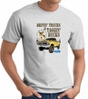 Ford Truck T-shirt - Driving and Tagging Bucks Adult Ash Tee Shirt