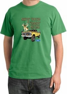 Ford Truck T-Shirt Driving and Tagging Bucks Pigment Dyed Piper Green