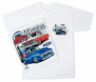 Ford Truck T-Shirts - Classic Adult White Tee Shirts