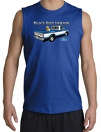 Ford Trucks Shooter Shirts - Man's Best Friend Adult Muscle Shirts