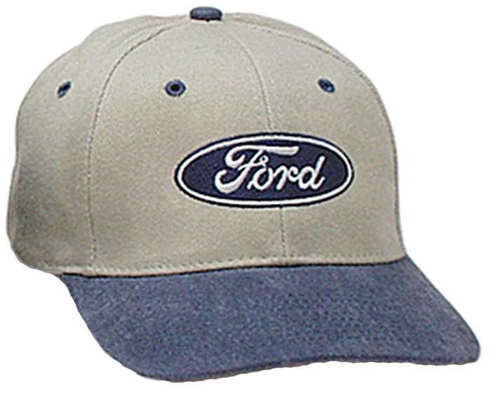ford two tone hat logo embroidered adjustable cap ford hats caps. 51e4c06653f7