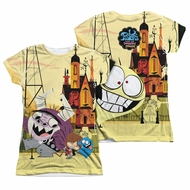 Foster's Home For Imaginary Friends Funny Friends Sublimation Juniors Shirt Front/Back Print