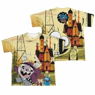 Foster's Home For Imaginary Friends Funny Friends Sublimation Kids Shirt Front/Back Print