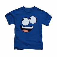 Foster's Home For Imaginary Friends Shirt Kids Blue Face Royal Blue Youth Tee T-Shirt