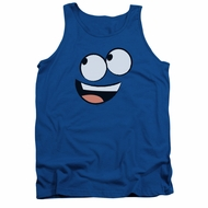 Foster's Home For Imaginary Friends Tank Top Blue Face Royal Blue Tanktop