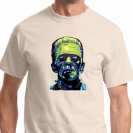 Frankenstein Face Mens Shirts