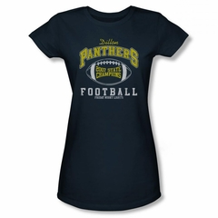 Friday Night Lights Shirt Juniors 2007 State Champs Navy T-Shirt