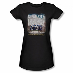 Friday Night Lights Shirt Juniors Can't Lose Black T-Shirt