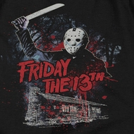 Friday the 13th Jason Attacks Cabin Shirts
