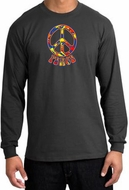 Funky 70s Peace Long Sleeve T-shirts