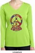 Funky Peace Ladies Dry Wicking Long Sleeve Shirt