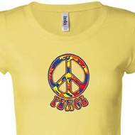 Funky Peace Ladies Shirts