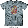 Funky Peace Spider Tie Dye Shirt