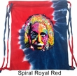 Funny Bag Albert Einstein Tie Dye Bag