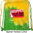 Funny Bag Dropped On My Head Tie Dye Bag