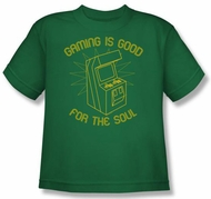 Funny Gaming Kids T-shirt - Gaming is Good Youth Tee