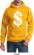 Funny Hoodie Distressed Dollar Sign Hoody