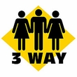 Funny Shirt 3 Way Sign Humor Tee Shirt