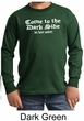 Funny Shirt Come To The Dark Side Kids Long Sleeve Shirt