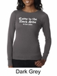 Funny Shirt Come To The Dark Side We Have Cookies Ladies Thermal Shirt