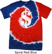 Funny Shirt Distressed Dollar Sign Patriotic Tie Dye Tee T-shirt