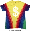 Funny Shirt Distressed Dollar Sign Premium Tie Dye Tee T-shirt