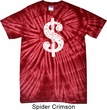 Funny Shirt Distressed Dollar Sign Spider Tie Dye Tee T-shirt