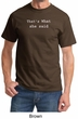 Funny Shirt Thats What She Said Funny Saying Adult T-shirt
