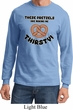 Funny Shirt Thirsty Pretzels Long Sleeve Tee T-Shirt