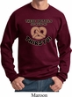 Funny Sweatshirt Thirsty Pretzels Sweat Shirt