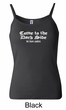 Funny Tank Top Come To The Dark Side Ladies Spaghetti Tanktop