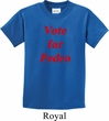 Funny Vote for Pedro Kids Shirt