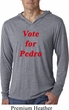 Funny Vote for Pedro Lightweight Hoodie Shirt