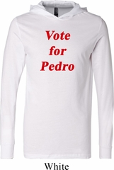 Funny Vote for Pedro Lightweight Hoodie Tee