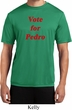 Funny Vote for Pedro Mens Moisture Wicking Shirt