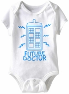 Future Doctor Funny Baby Romper White Infant Babies Creeper