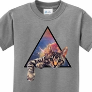 Galactic Cat Kids Shirts