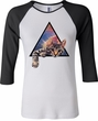 Galactic Cat Ladies Raglan Shirt