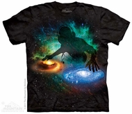 Galaxy DJ Shirt Tie Dye Adult T-Shirt Tee